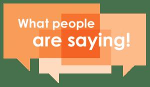 testimonal words on a shoutout