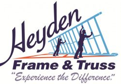 new Heyden Frame and Truss Logo